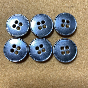 Metal Buttons - 4 Hold Button (6pcs) #700