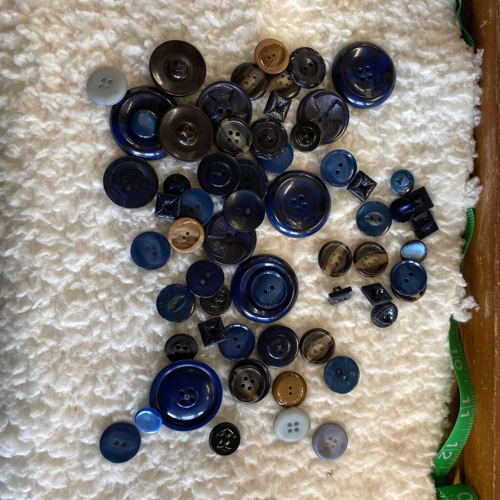 Blue Button Lot #206