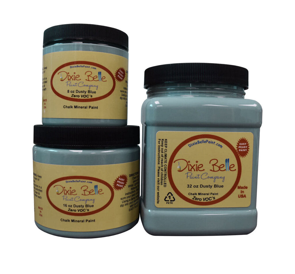 Dixie Belle Chalk Mineral Paint - Dusty Blue
