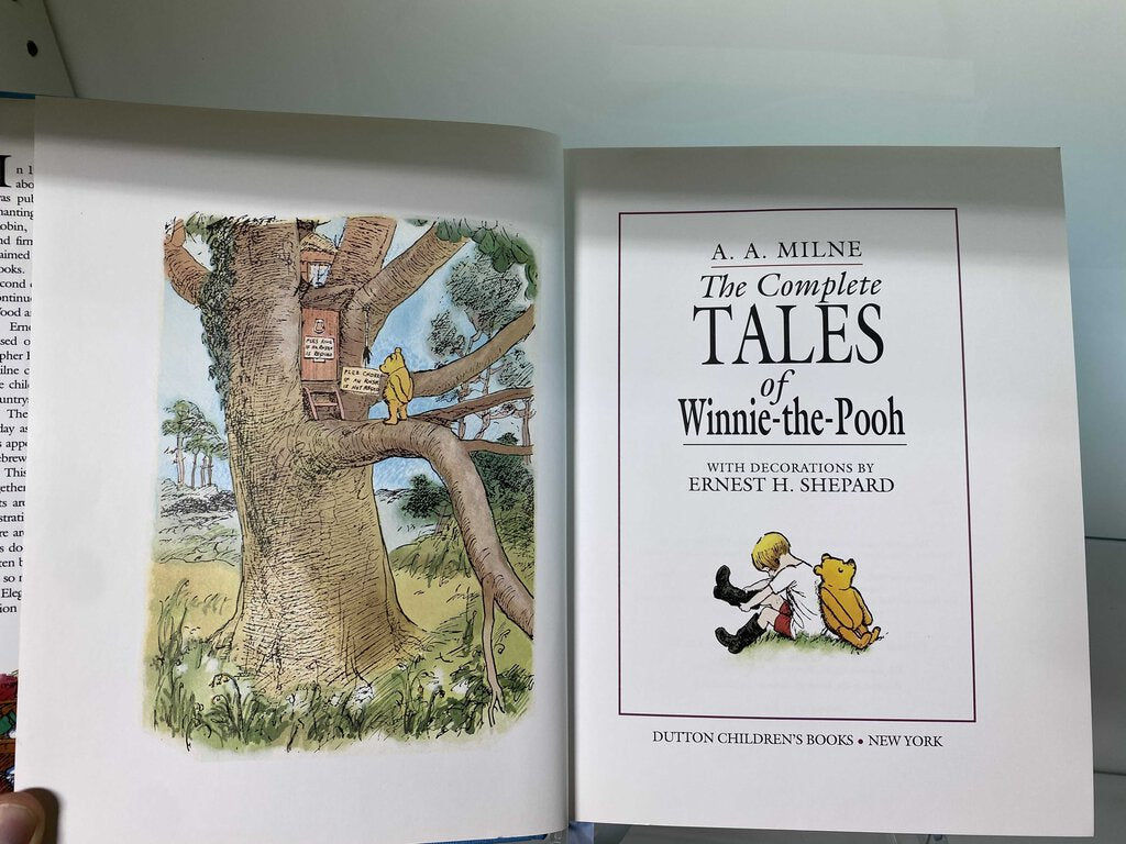 The Complete Tales of Winnie-the-Pooh - by A.A. Milne - with decoration by Ernest H. Shepard.