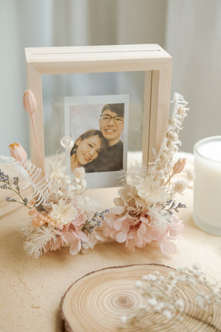 Sweet Pink Floral Frame - Portrait Only