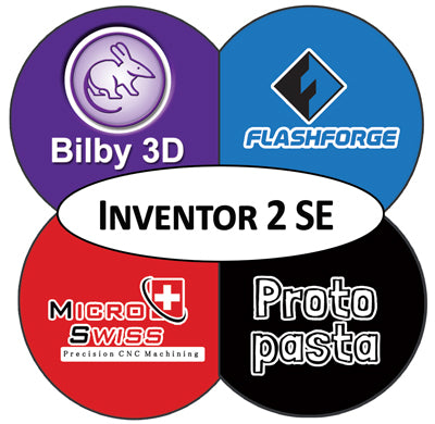 This is a special Edition of the FlashForge Inventor 2