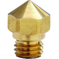 0.4mm Genuine FlashForge Nozzle - M7 Thread for MK10 Extruder