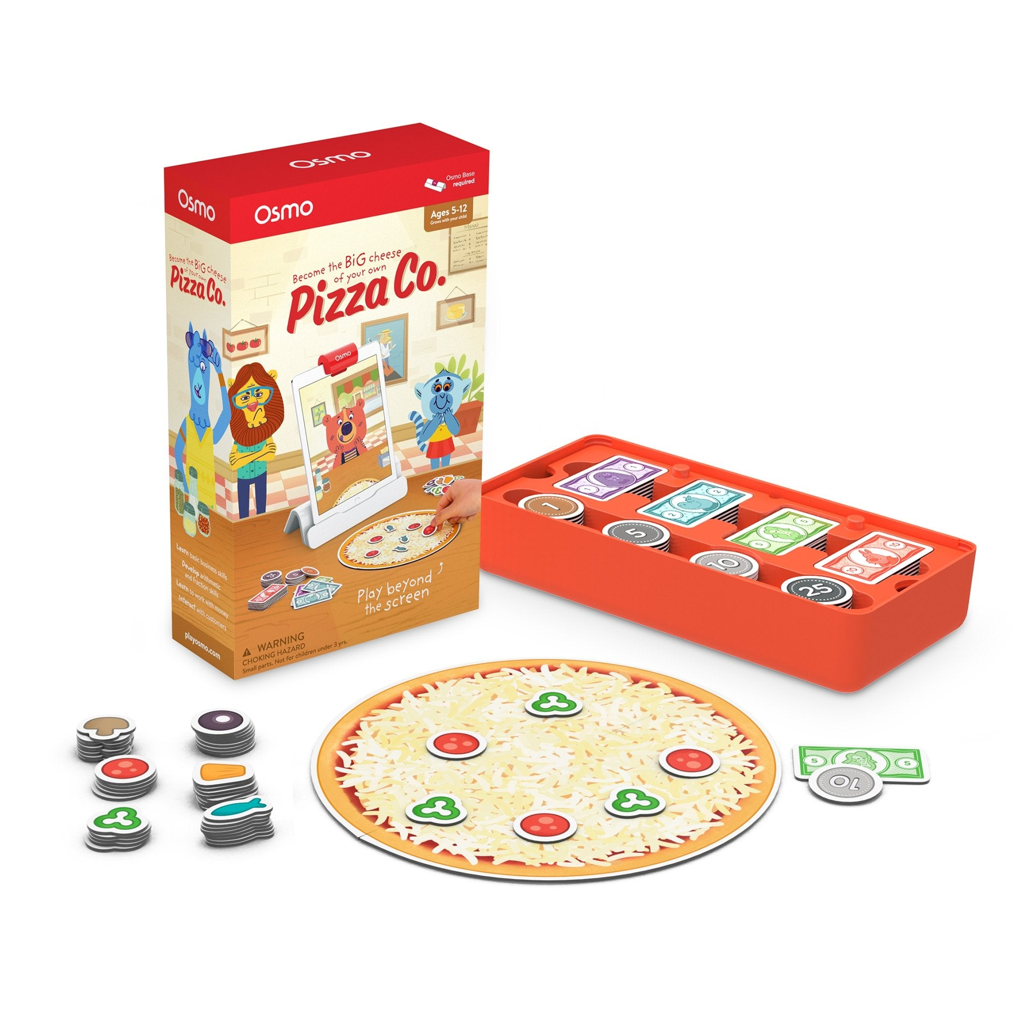 Osmo Pizza Co. Game for Ages 5-12