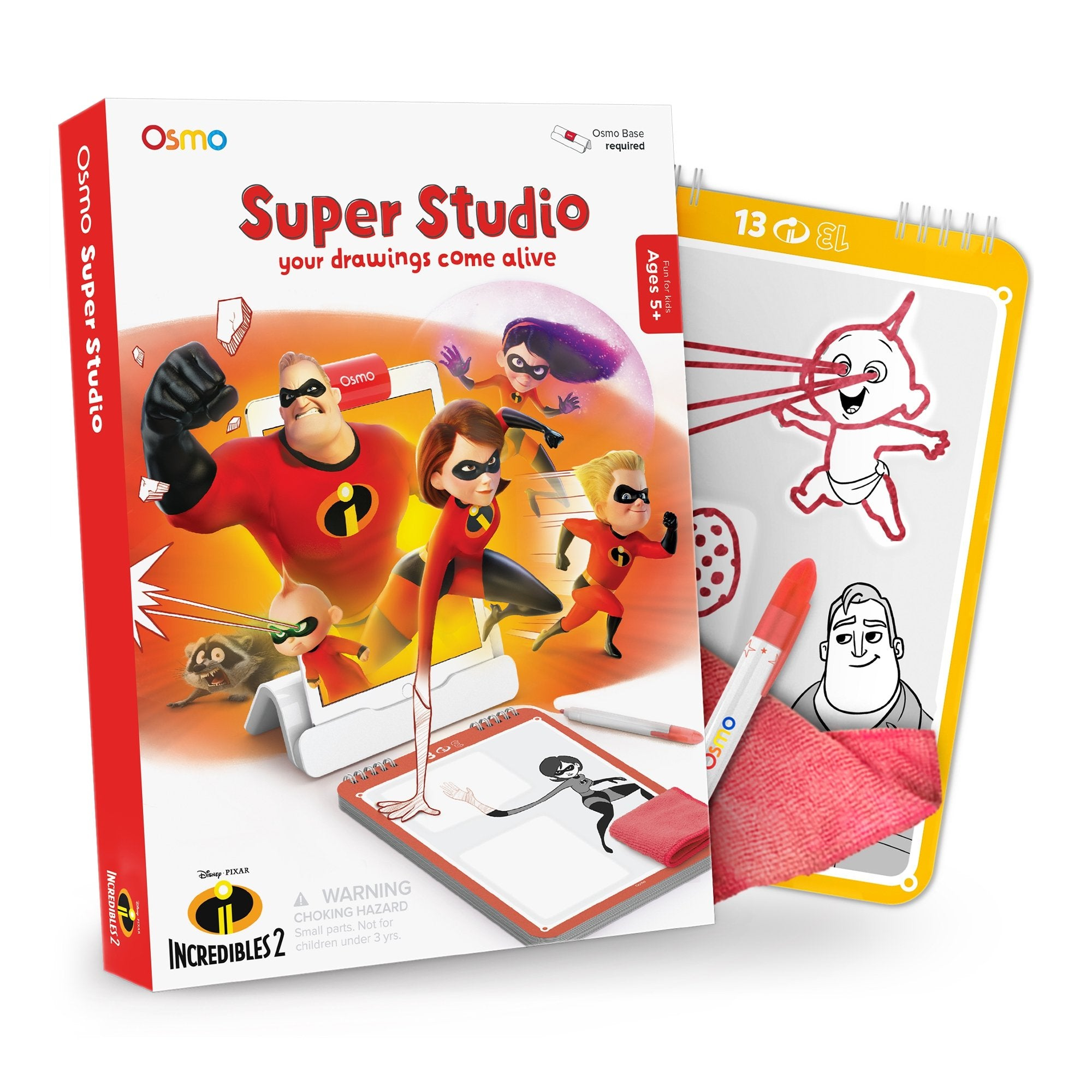 Osmo Super Studio Disney Pixar Incredibles 2 for Ages 5-11