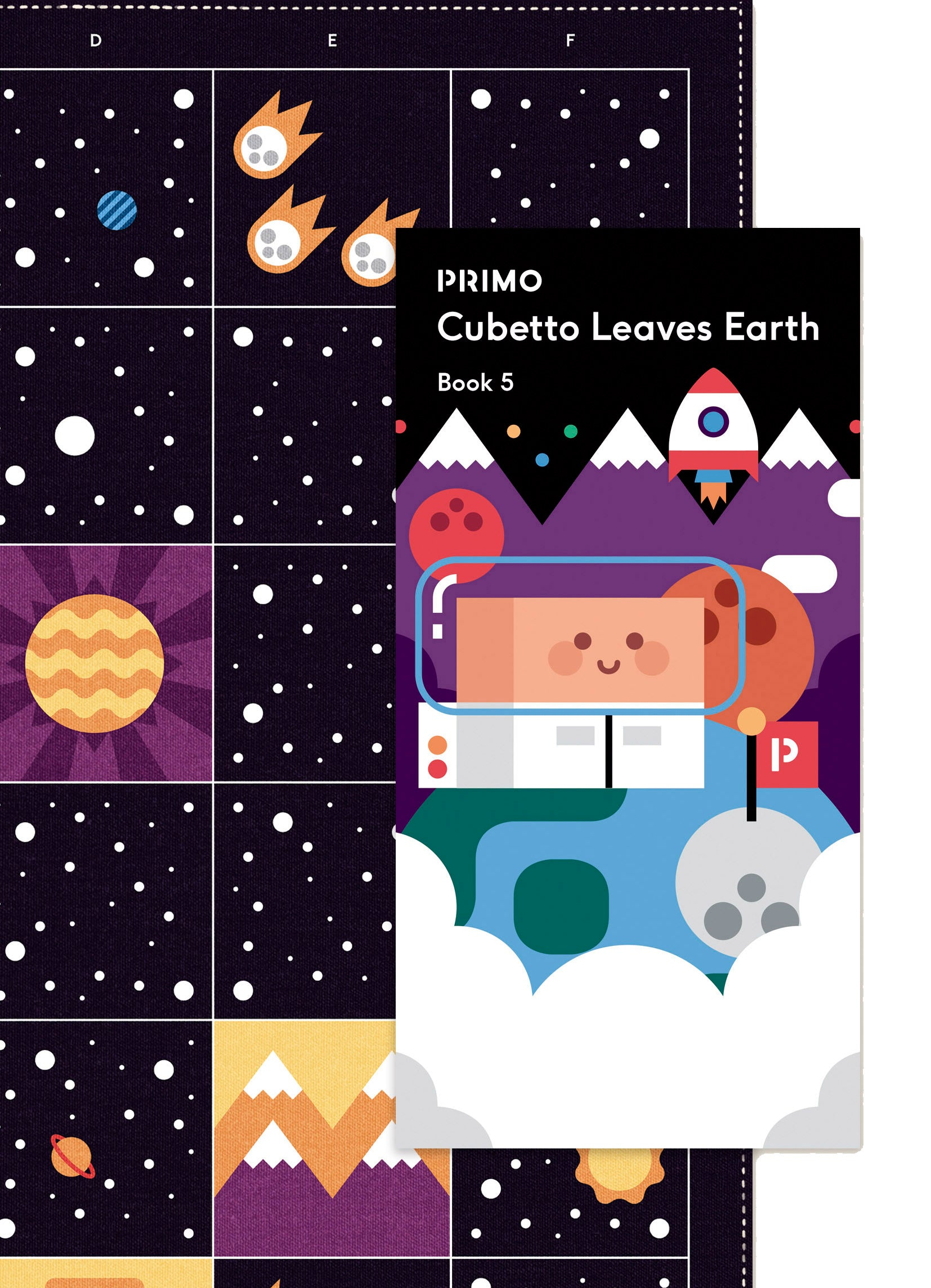 Cubetto Leaves Earth - Space Map and Story Book
