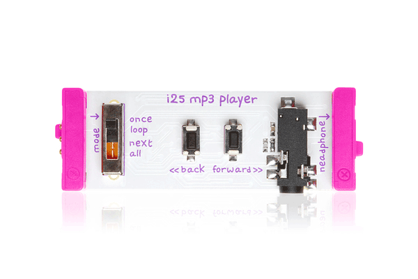 littleBits MP3 Player