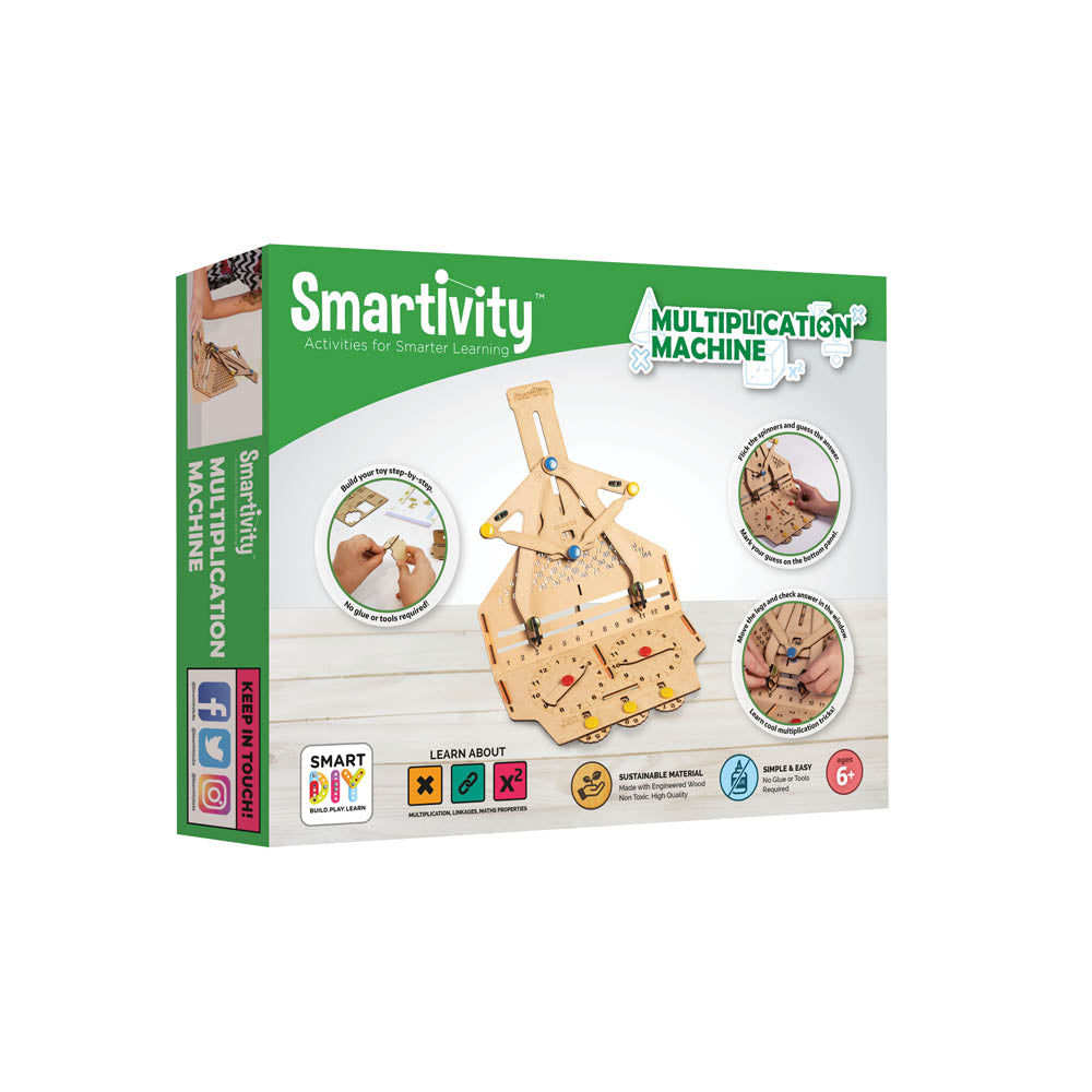 Smartivity Fidget Digit Multiplication Machine