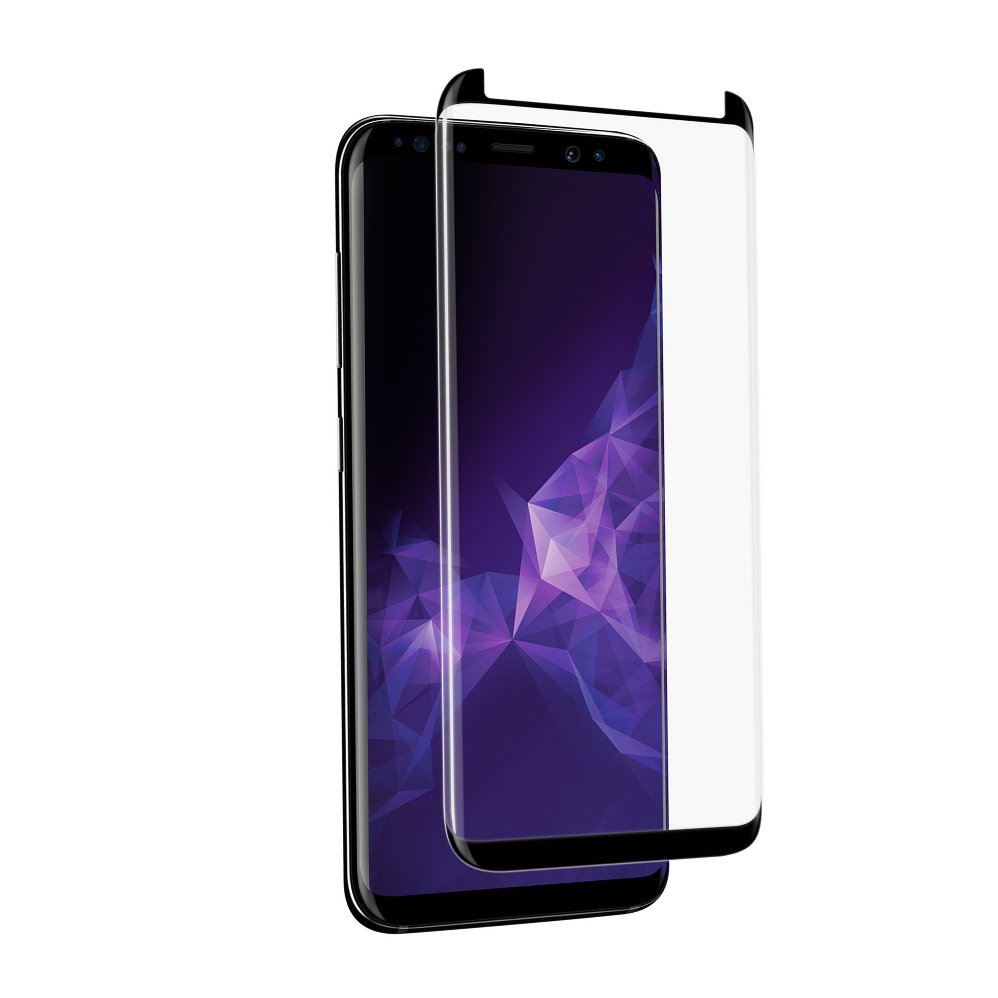 NVS Curved Atom Glass for Galaxy S9+