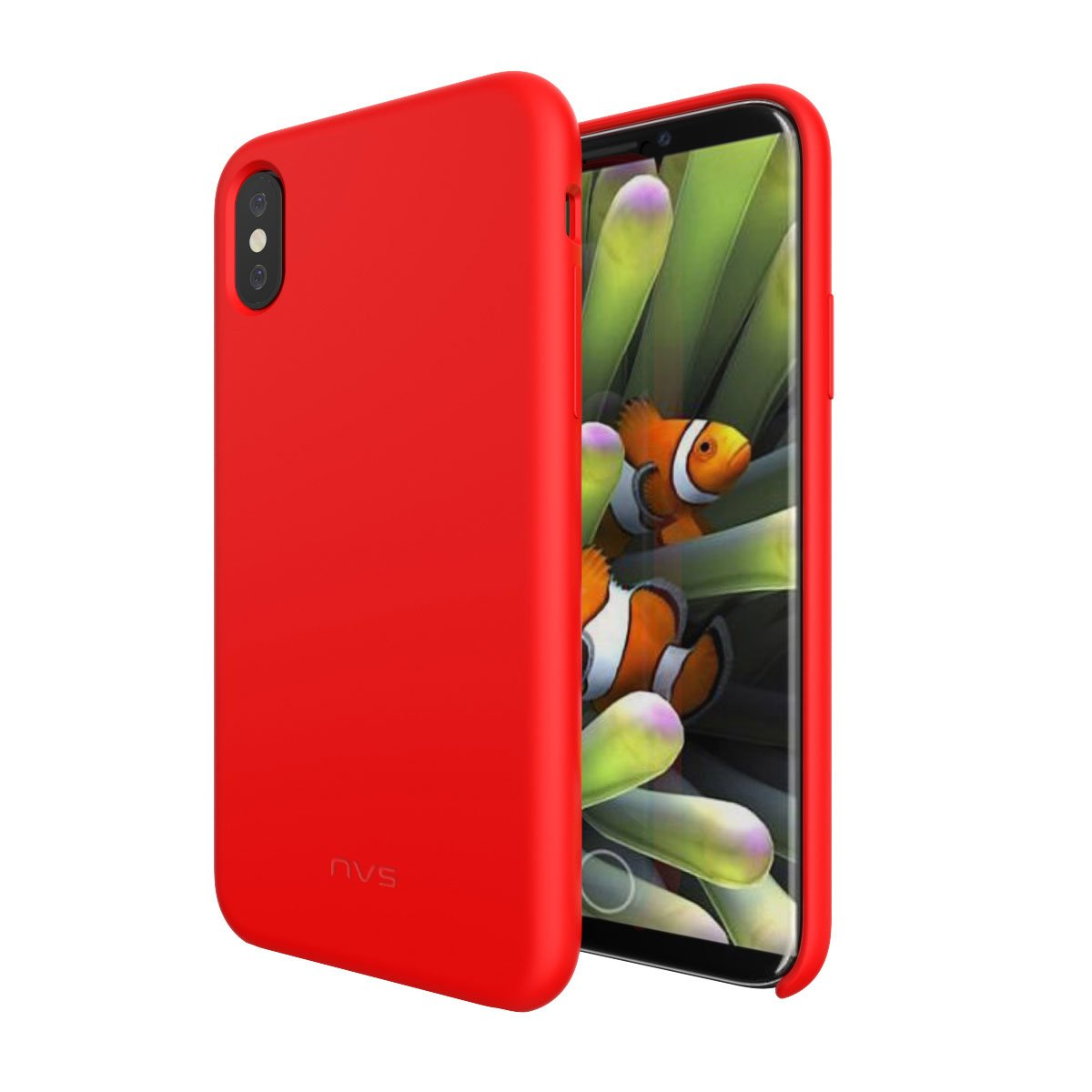 NVS Soft Grip Case for iPhone X/Xs