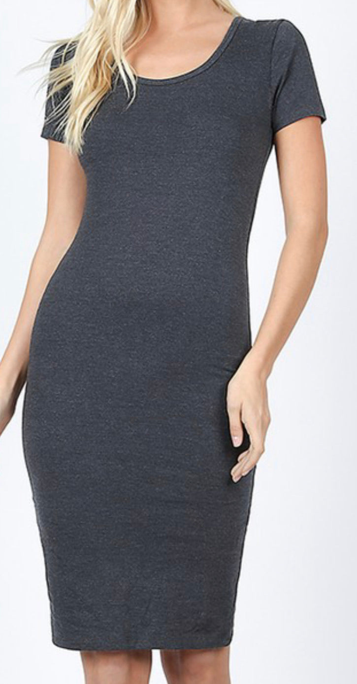 Charcoal Bodycon