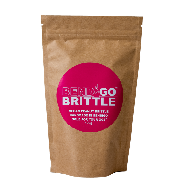Vegan Peanut Brittle 100g
