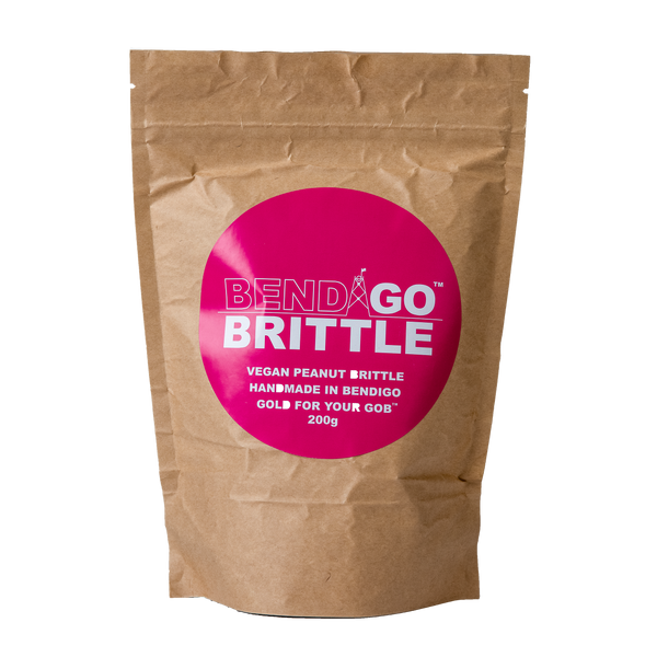 Vegan Peanut Brittle 200g