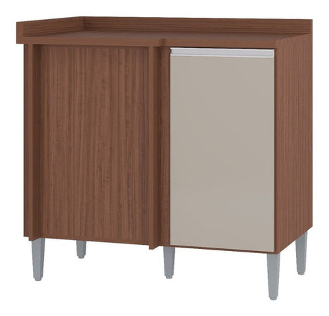 Image of Mueble Inferior Cocina 91 Cm Lat Capuchino Hueso