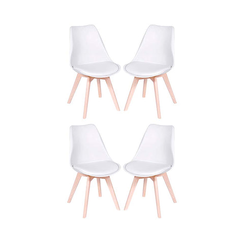 Image of Set x4 Sillas Eames Tulip - Akivoy Colombia