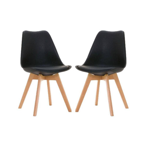 Image of Set x2 Sillas Eames Tulip