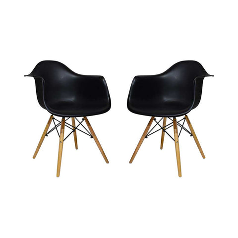 Image of Set x2 Sillas Eames Reposabrazos - Akivoy Colombia