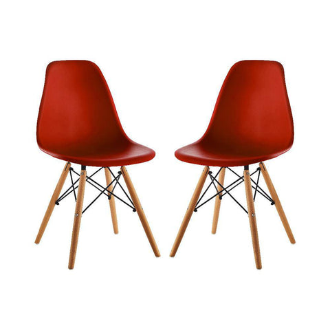 Image of Set x2 Sillas Eames Tradicional