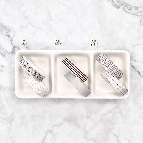 Washi Tape 1cm x 3m - Pack of Two (Note)