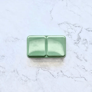 Tin palette, travel tin palette, palettes, watercolour travel palette, compact, green