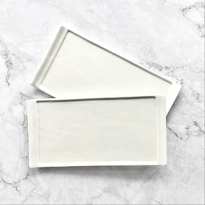 White Ceramic Palette 1 Flat Colour Mixing Surface