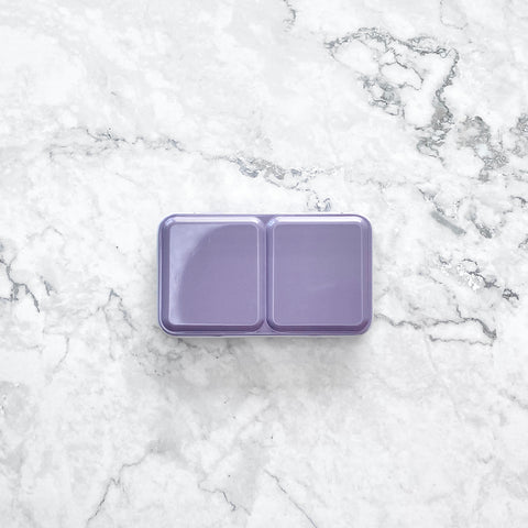 Tin palette, travel tin palette, palettes, watercolour travel palette, compact, lavender
