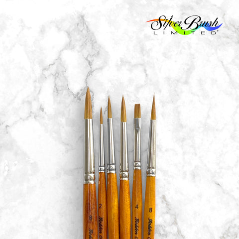 Silver Brush - Golden Natural® 2000S, 2002S, & 2031S