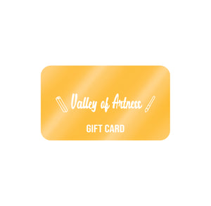 Valley of Artness Gift Card