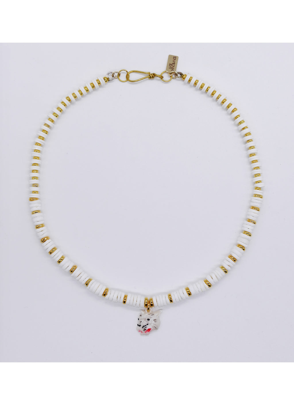Tiger collar necklace