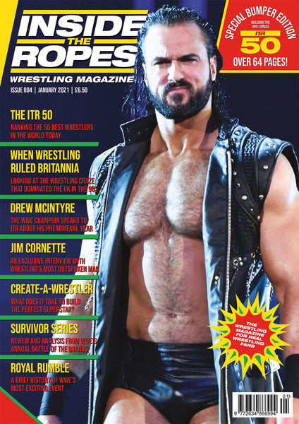 Inside The Ropes Magazine (Issue 4) - BUMPER ISSUE