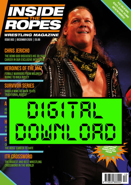 DIGITAL: Inside The Ropes Magazine (Issue 3)