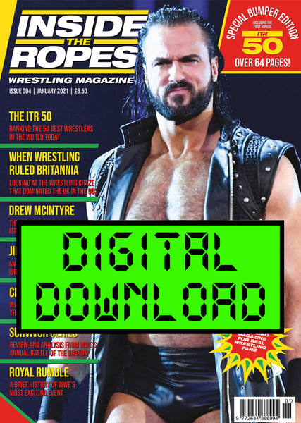 DIGITAL: Inside The Ropes Magazine (Issue 4)