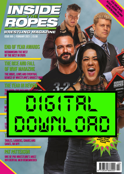DIGITAL: Inside The Ropes Magazine (Issue 5)