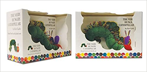 The Very Hungry Caterpillar Board Book and Plush (Book&Toy)