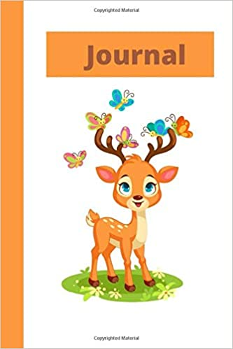 Journal: Deer journal 6X9, 100 pages