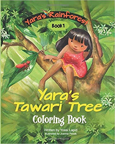 Yara's Tawari Tree: Coloring book
