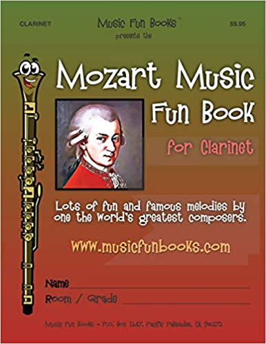Mozart Music Fun Book for Clarinet