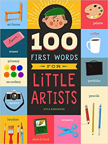 100 First Words for Little Artists (3)