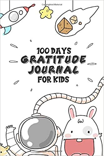 100 Days Gratitude Journal For Kids: Space Themed Daily Writing, Drawing Diary For Boys | Thankful Notebook to Write In | Space Lovers Gift Ideas