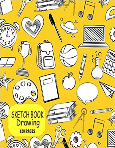 Sketch Book Drawing: Notebook for Drawing,for kids- 120 Pages, 8.5x11