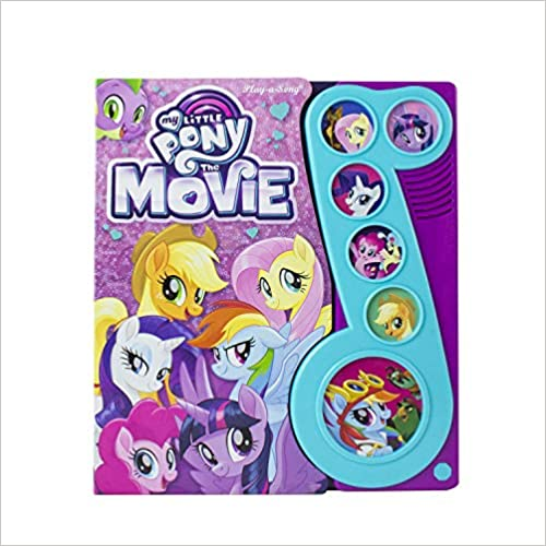 Hasbro - My Little Pony The Movie Little Music Note Sound Book - PI Kids