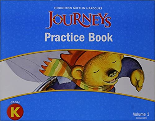 Journey's Practice Book: Kindergarten: 1