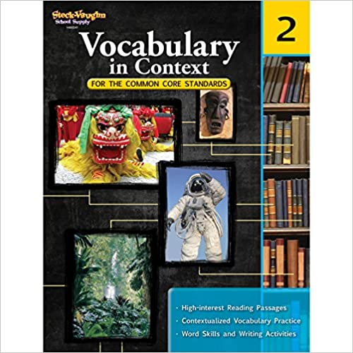 Vocabulary in Context for the Common Core Standards: Reproducible Grade 2