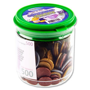 Coin & Paper Money Jar