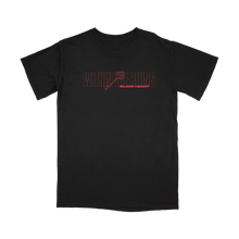 "Load image into Gallery viewer, ""Black Heart"" Shirt (Red) (Pre-Order)"