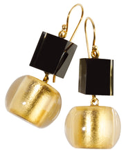 Load image into Gallery viewer, Precious Earrings - Short Hook Double Layer - Gold