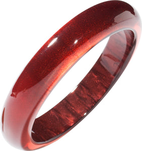Colourful Beads Bangle - Red