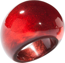 Load image into Gallery viewer, Colourful Beads Ring - Red