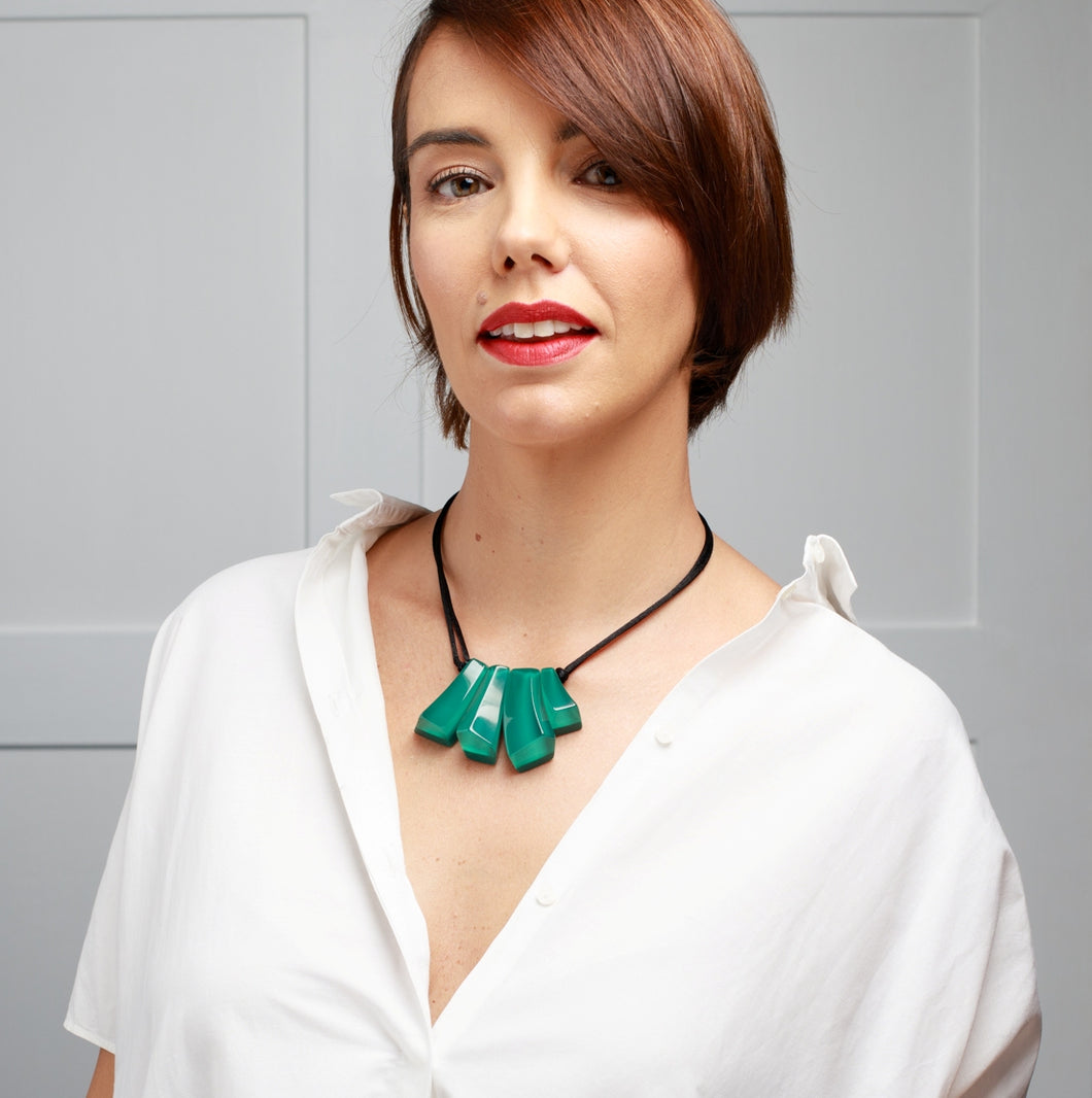Emocion Necklace - Green