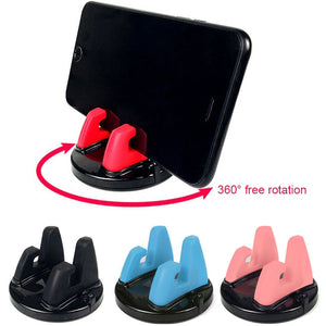 Universal Car Phone Holder Stand 360 Degree Rotation